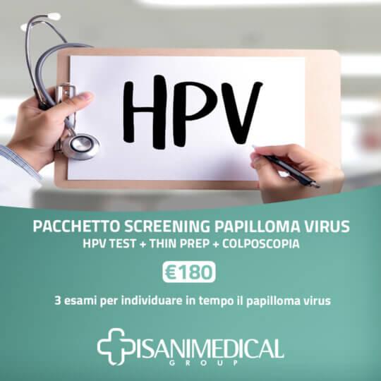 Pisani Medical Group | Screening Papilloma virus
